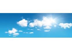 阳光蓝天图片素材