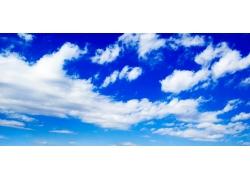 蓝天白云图片素材