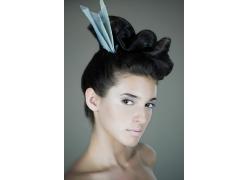美女超酷发型高清图片