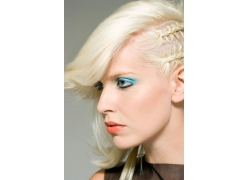 外国女人的发型设计图片