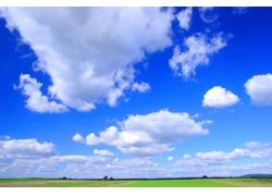 蓝天大地自然景观高清图片