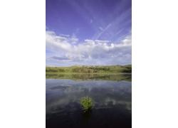 湖泊自然景观图片