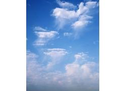 蓝色的天空自然风景高清图片