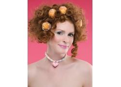 个性发型设计外国女人高清图片