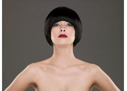 性感沙宣发型美女高清图片