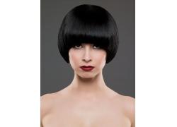 浓妆气质沙宣发型美女高清图片