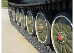 坦克车轮图片素材