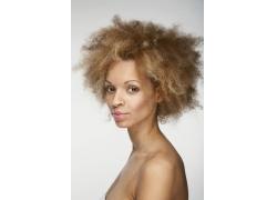 爆炸发型性感美体女人高清图片