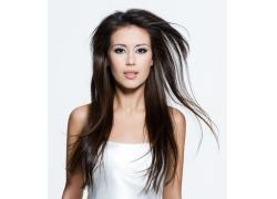 性感化妆外国女人发型设计高清图片