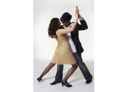 贴身热舞的外国男女演员高清图片