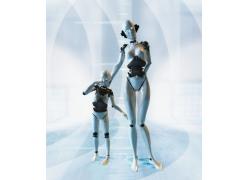 未来高科技机器人高清图片
