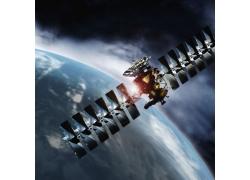 太空卫星高清图片