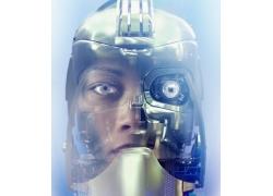 未来科技机器人高清图片
