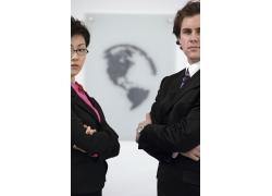 成功商务男女高清图片