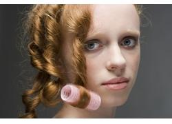 做头发美女发型设计高清图片