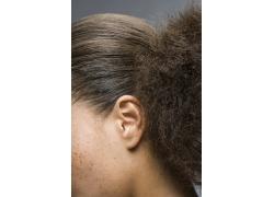 黑人女性发型设计高清图片