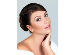 外国性感女人发型设计高清图片