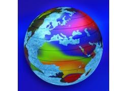 抽象创意梦幻地球背景高清图片