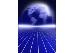 抽象创意地球背景高清图片