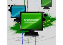 液晶电视海报设计PSD素材