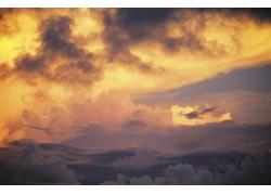 天空云彩美景摄影图片