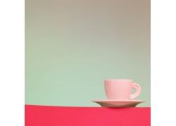 咖啡杯子摄影特写高清图片
