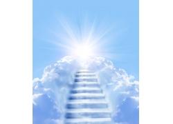 通向天堂的阶梯图片素材