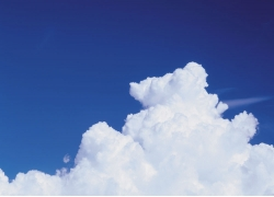 蓝天白云摄影高清图片