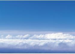 漂亮的蓝天白云高清图片