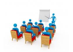 商务会议3D小人素材高清图片