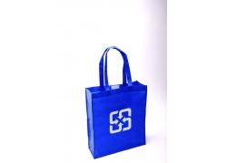 蓝色的环保购物袋图片