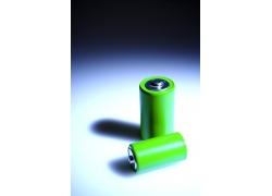 绿色环保电池特写高清图片