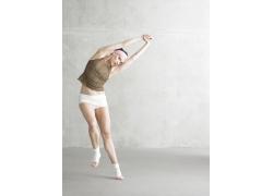 动感舞蹈的外国美女演员高清图片