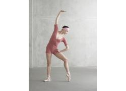 表演健身舞蹈的外国美女高清图片