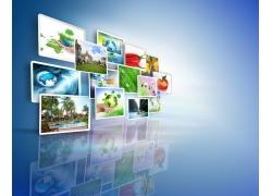 互联网环保图片素材