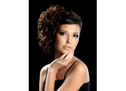 时尚美女发型设计高清图片