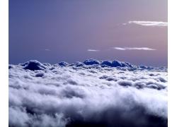 气势磅礴的云海图片素材