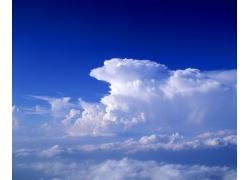 蓝天白云图片48