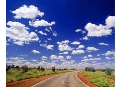 蓝天白云图片53