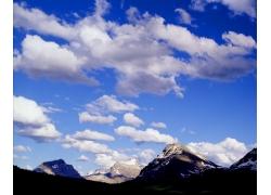 蓝天白云图片06