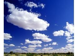 蓝天白云图片14