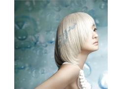 性感美女个性发型设计高清图片