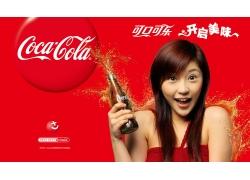 可口可乐冷饮海报设计PSD素材