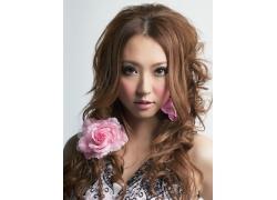 性感美女时尚发型设计高清图片