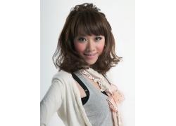 时尚可爱美女发型设计高清图片
