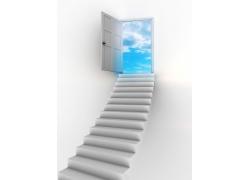 通往天堂的阶梯图片