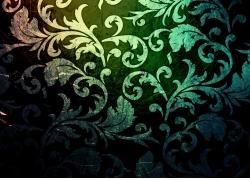 欧式花纹实用纹理背景