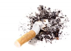 一只烟头高清图片
