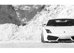 兰博基尼超级跑车摄影图