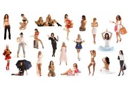 各种时尚美女素材高清图片